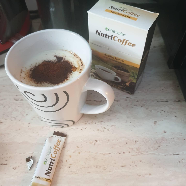 NUTRICOFFEE CAFEA CU CICOARE - PLICULETE