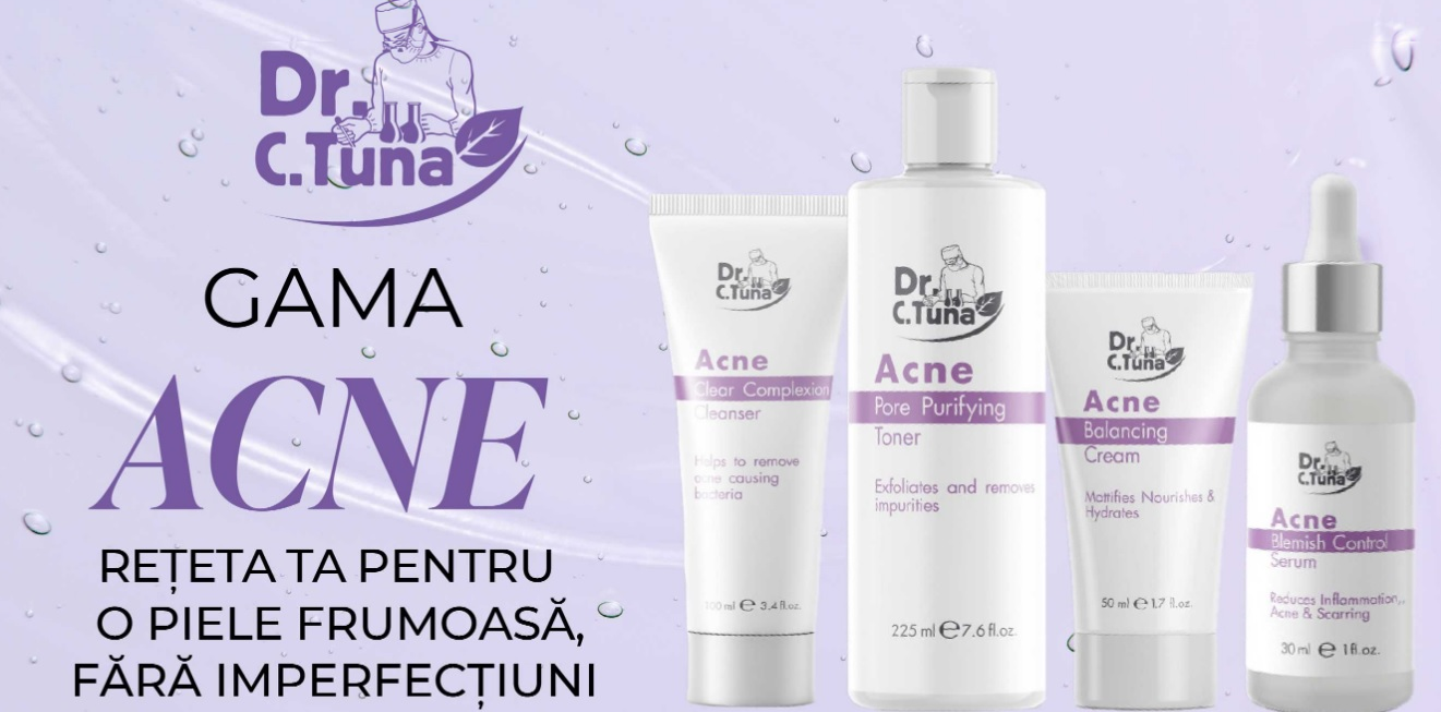 gama acne farmasi tratament acnee